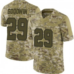 Nike C.J. Goodwin Dallas Cowboys Limited Camo 2018 Salute to Service Jersey - Men's