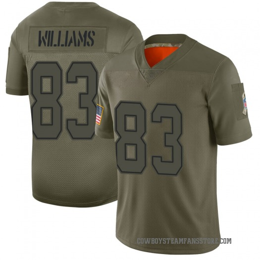 Nike Terrance Williams Dallas Cowboys Limited Camo 2019 Salute to Service Jersey - Men's