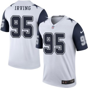 Nike David Irving Dallas Cowboys Legend White Color Rush Jersey - Youth