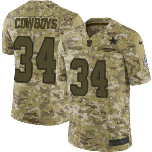Nike Dallas Cowboys Dallas Cowboys Limited Camo 2018 Salute to Service Jersey - Youth