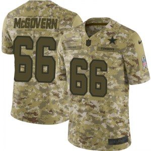 Nike Connor McGovern Dallas Cowboys Limited Camo 2018 Salute to Service Jersey - Youth