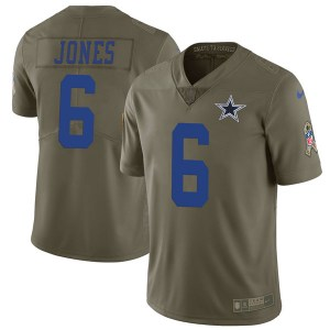 Nike Chris Jones Dallas Cowboys Limited Green 2017 Salute to Service Jersey - Youth
