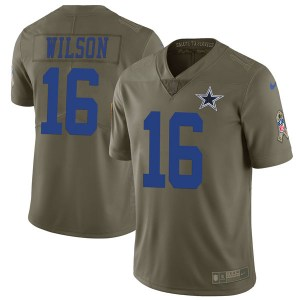 Nike Cedrick Wilson Dallas Cowboys Limited Green 2017 Salute to Service Jersey - Youth